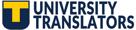 UNIVERSITY TRANSLATORS SERVICES, LLC Logo