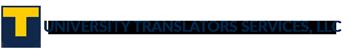 UNIVERSITY TRANSLATORS SERVICES, LLC Logo